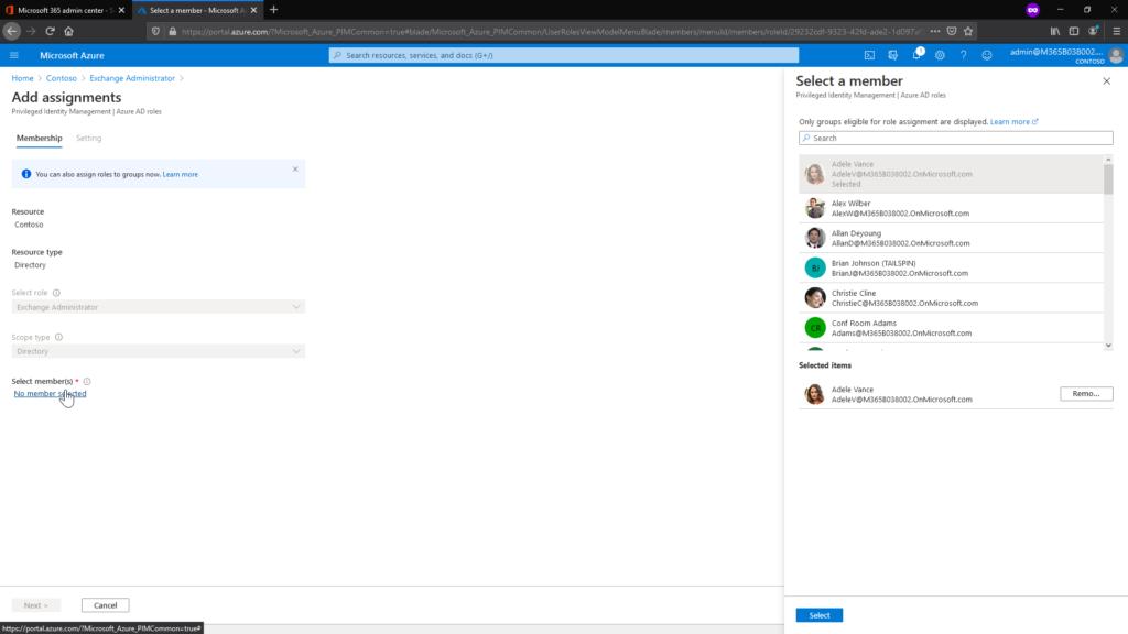 Azure AD Privileged Identity Management