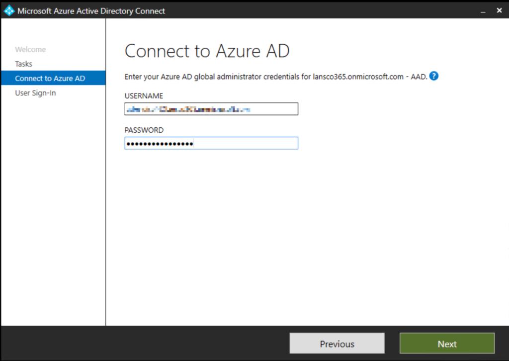 ADFS zur Cloud Authentifizierung